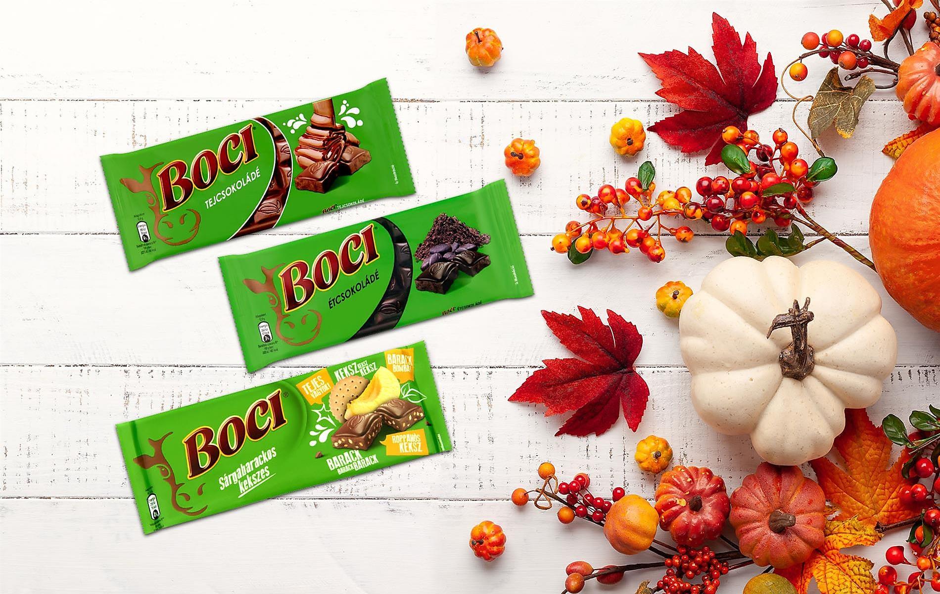 10 pont táblás Boci csokikkal*