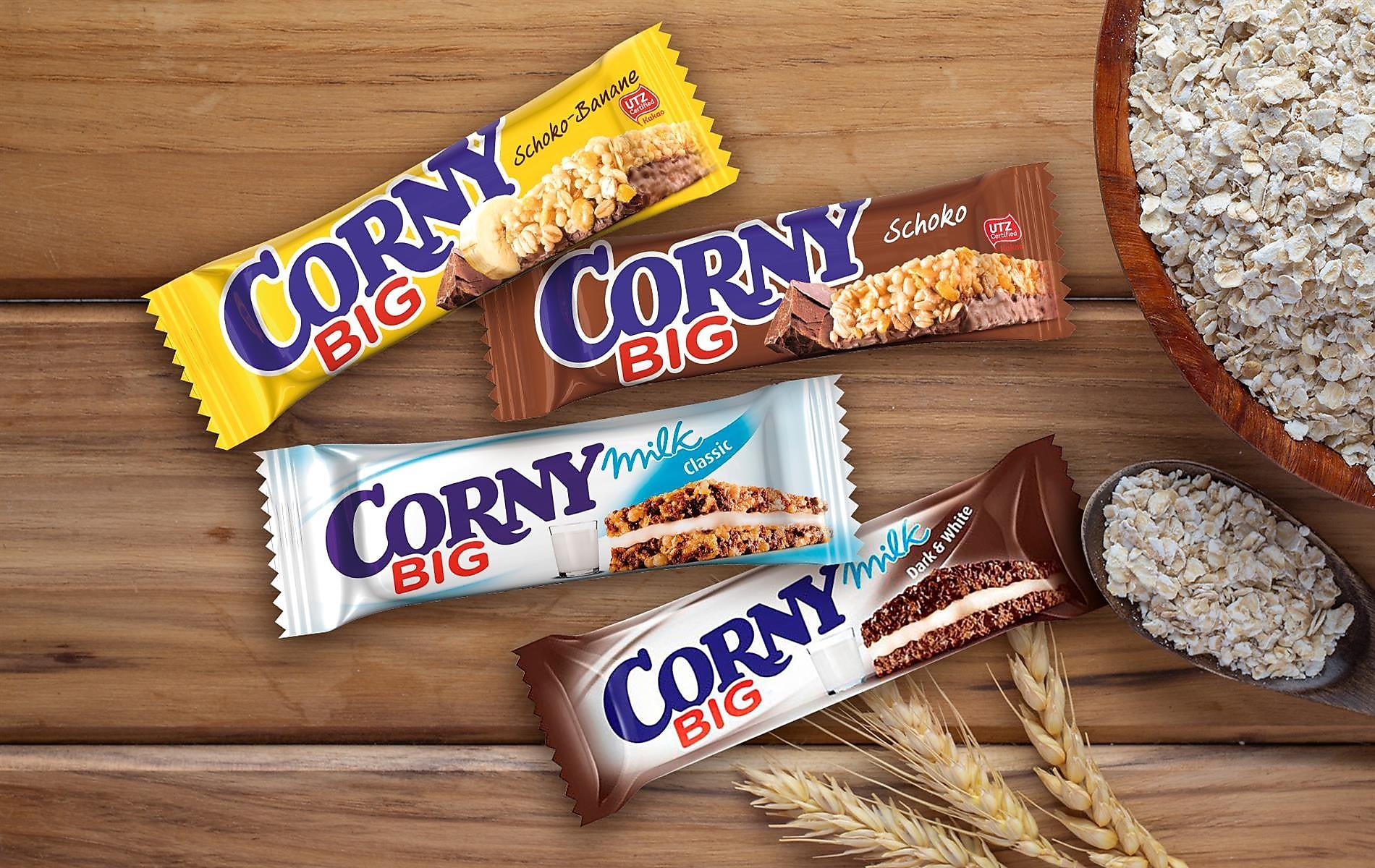 10 pont Corny müzliszelettel!