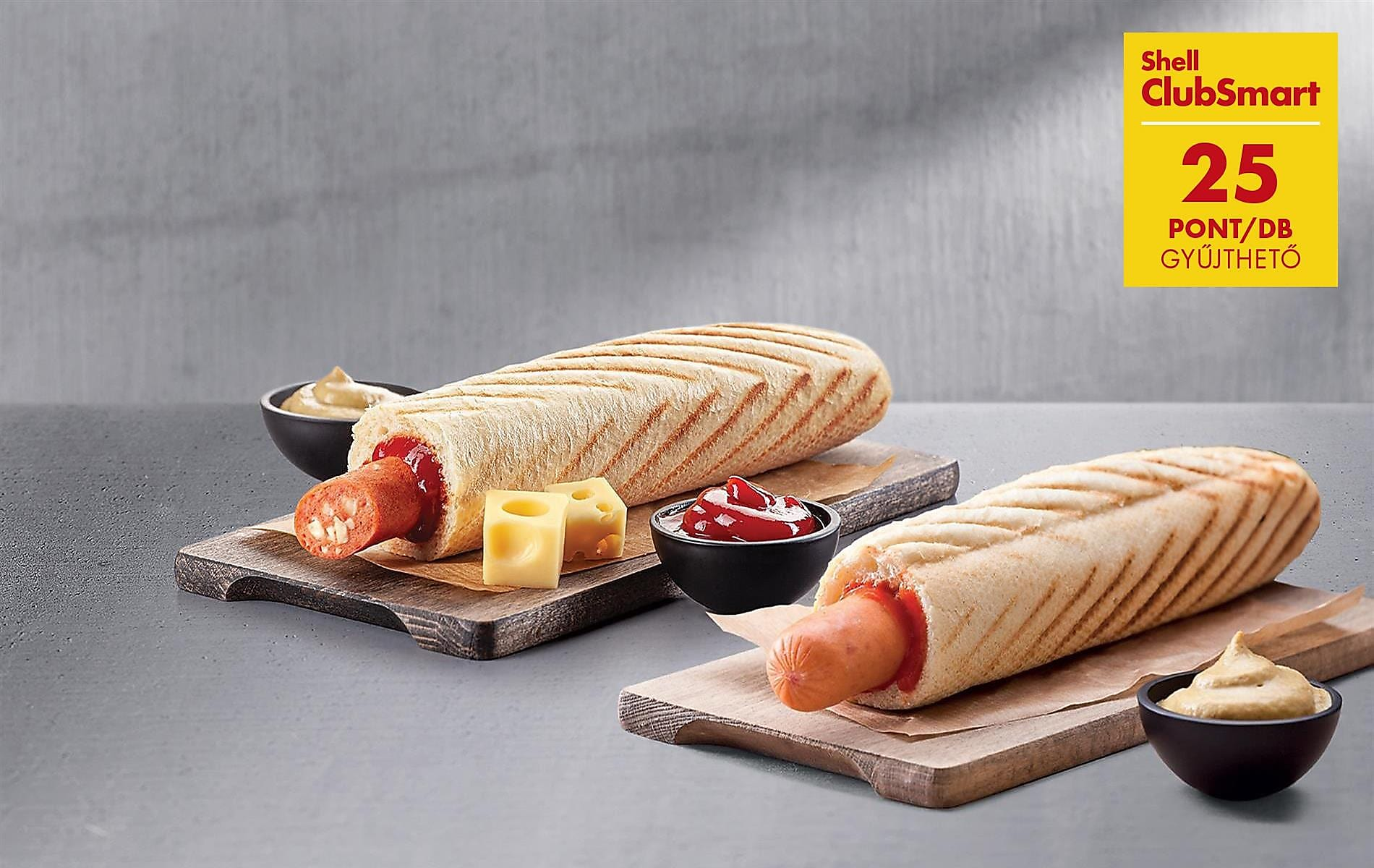 25 pont deli by Shell hot doggal