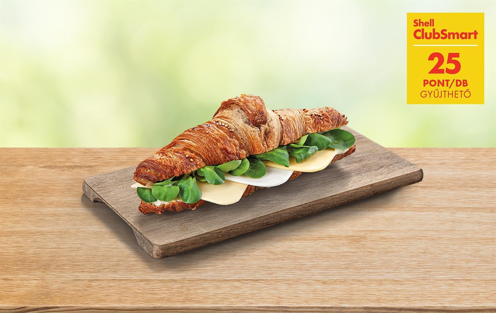 25 pont új, 3 sajtos Vegán szendvicsünkkel!